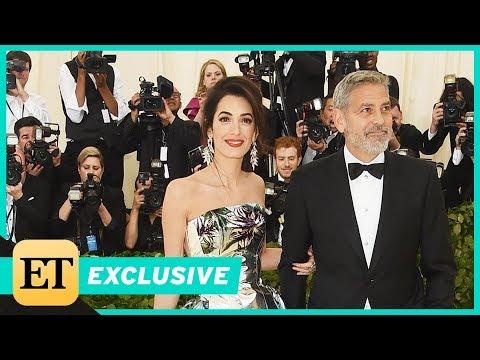 Met Gala 2018: George Clooney Gushes Over Wife Amal's 'Beautiful' Look Exclusive