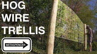 Hog Wire Trellis