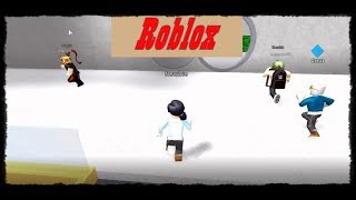 ROBLOX-Freezing everyone!! (Freeze Tag)
