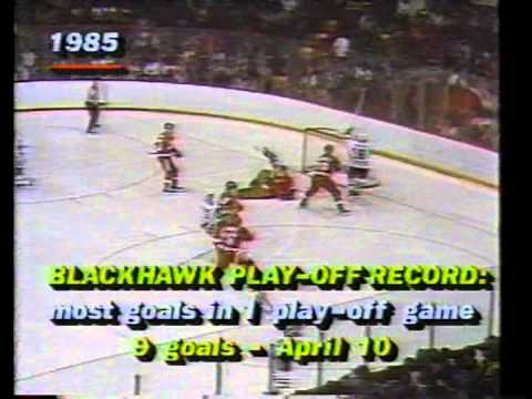 Chicago Blackhawks 1985