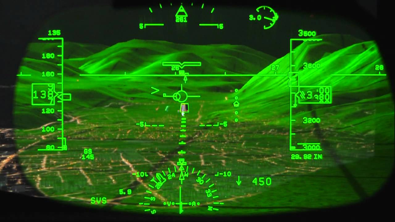 Rockwell Collins Head Up Guidance Hgs Demo It S