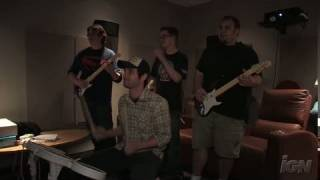 Rock Band (Special Edition) Nintendo Wii Gameplay - Rock