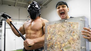 Download $10,000 IF ANY YOUTUBER CAN BREAK THE BOX!! (UNBREAKABLE GLASS CHALLENGE) Mp3 and Videos
