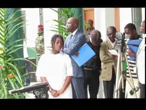 Cérémonie de retrocession d'un immeuble R+1 à l'ENEF Gabon