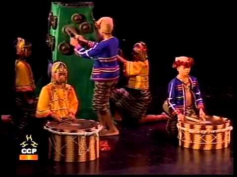 Ethnic Tribal Music Dance of the Philippines   Bagobo and Ifugao tribal music dances