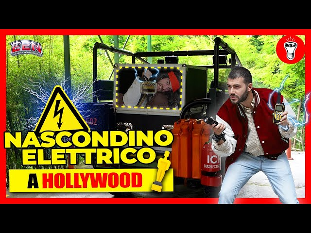 Nascondino Elettrico in un Parco Divertimenti a Tema Hollywood - EEN EP.3 (Movieland) - theShow