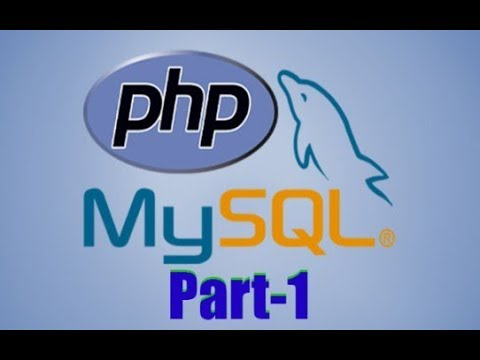 PHP With Mysql Part 1 In Bangla Tutorial