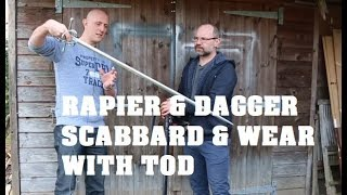 Rapiers and Scabbards - Reproduction of French Rapier & Dagger With Tod