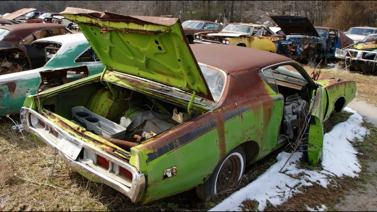The Epic Mopar Junkyard Part 1: Chargers, Superbees, Road Runners ...