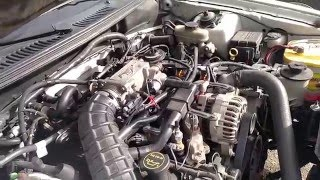 mustang gt 1996 2004 pi intake removal how to replacement part 1