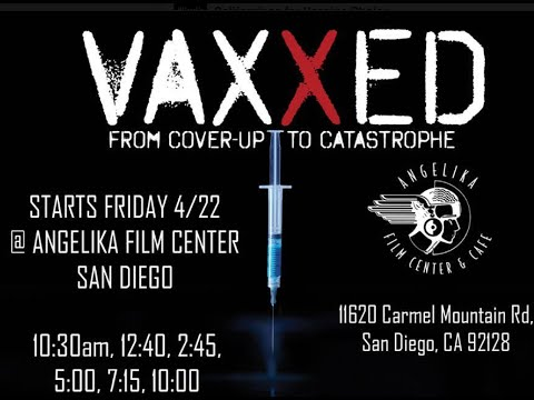 Full #Vaxxed Q&A San Diego Premiere with Producers