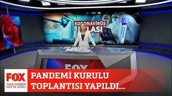 Pandemi Kurulu toplantısı yapıldı! 28 Mart 2020 Gülbin Tosun ile FOX Ana Haber Hafta Sonu