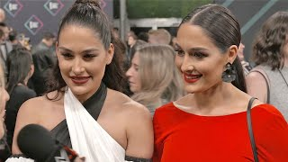 The Bella Twins and Nia Jax dazzle at the E! People