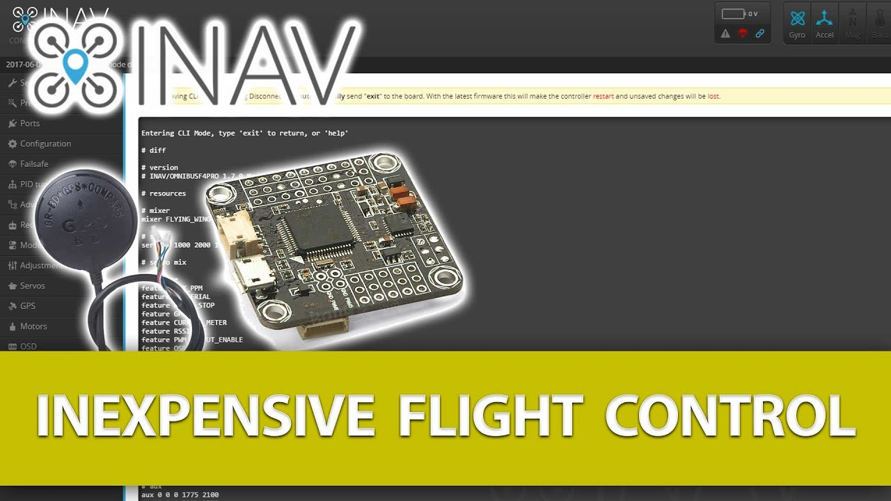 How to Copy Settings From One Board to Another with the iNav Configurator