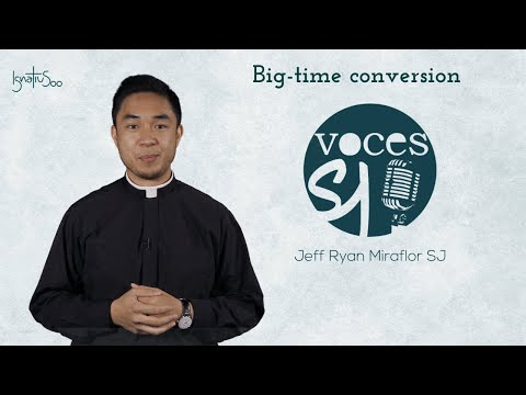 Big-time conversion. Ignatius in the centre