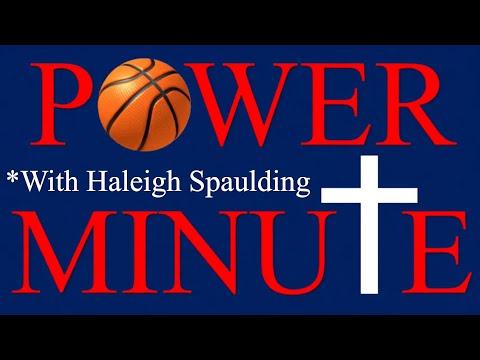 Power Minute  Haleigh Spaulding