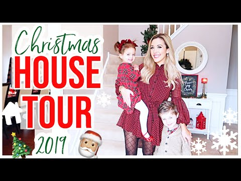 NEW CHRISTMAS HOUSE TOUR 2019! HOLIDAY HOME DECOR ENTIRE HOUSE TOUR + HOMEMAKING INSPO | Brianna K
