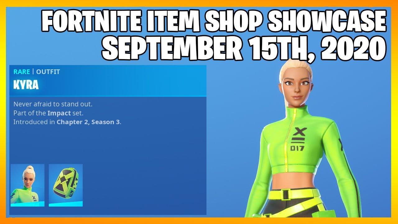 Fortnite Item Shop *NEW* KYRA SKIN! [September 15th, 2020] (Fortnite Battle Royale)