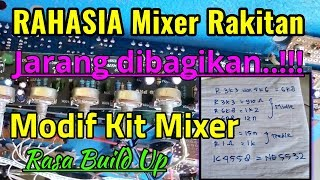 Cara modif Mixer rakitan rasa build up