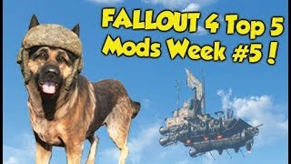 Fallout 4 Top 5 Mods of the Week #5 (Xbox One Mods)