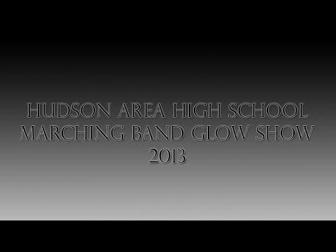 Hudson Area High School Glow Show 2013