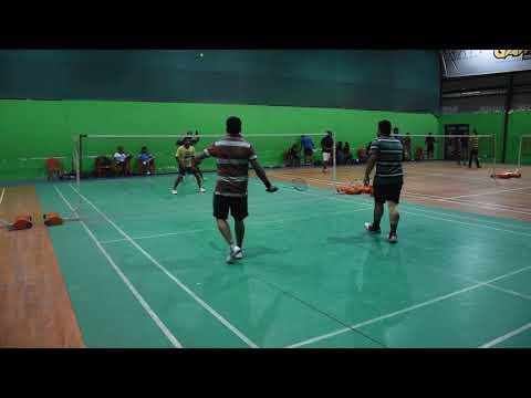 Badminton Men doubles Janmejay&Pranab VS Kanha&Arun at BIG GAME Sports CLUB, Bangalore 17thDEC2017