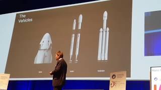 SpaceX - Hans Koenigsmann at IAC 2018 - Part 1