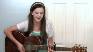 "Me singing ""Stuck Like Glue"" by Sugarland"