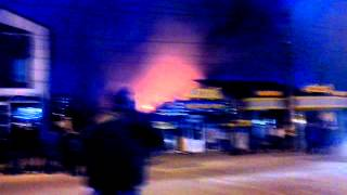 Пожар в Хмельницком 09.04.15 Магазин