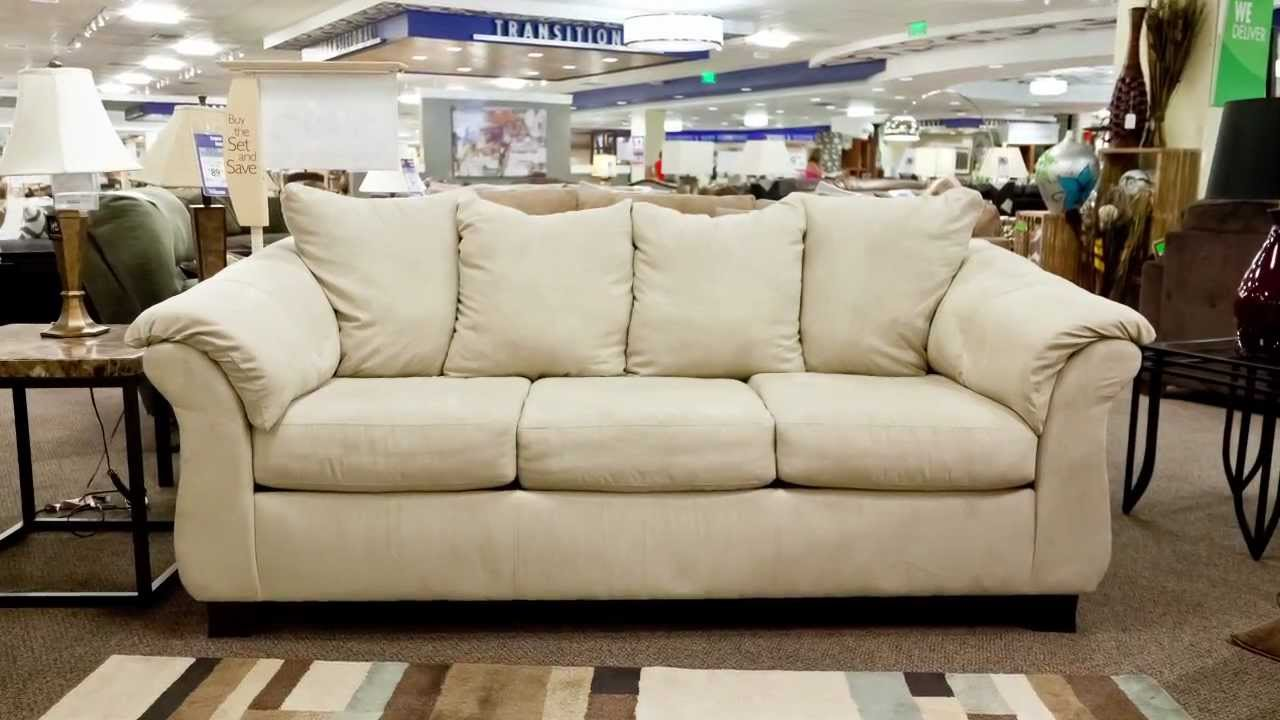 American Furniture Stone Calcutta Sofa - YouTube