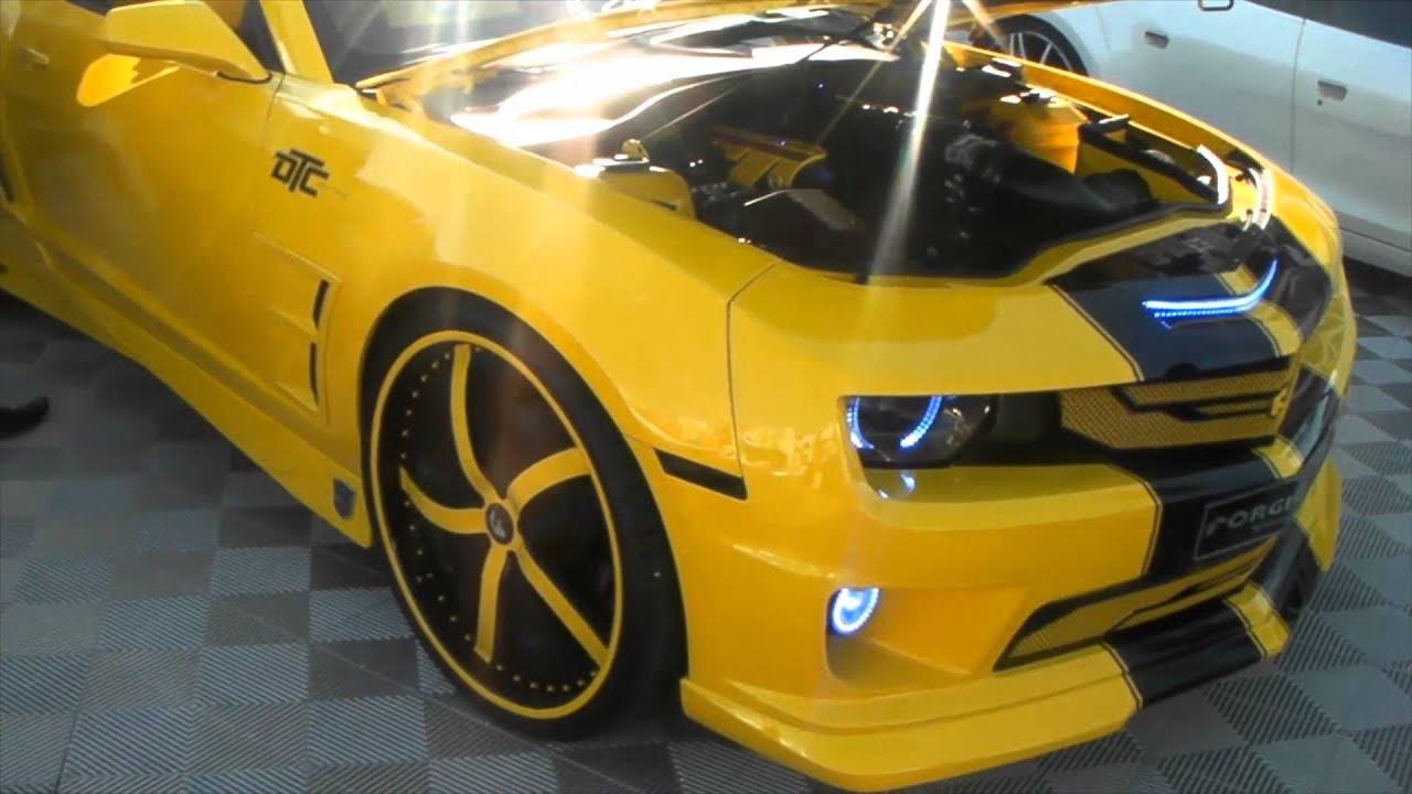Dubsandtires Com Yellow And Black Forgiato Camaro Asanti
