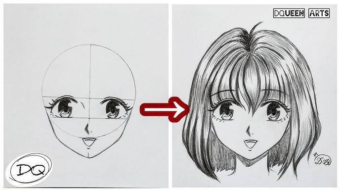 Cara Menggambar Orang Cewek Manga Yg Malu Youtube