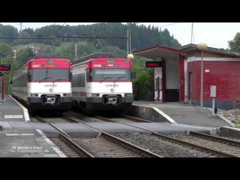 TRAINSPOTTING VOL 1204 TRENES RENFE CRUZÁNDOSE U 4K