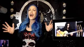Alissa White-Gluz (ft. Gus G) - Reason To Believe (Acoustic) #TogetherAtHome
