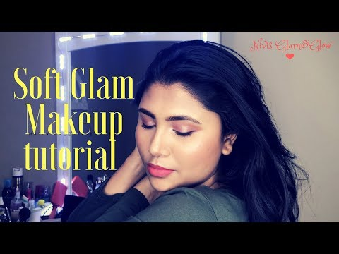 Soft Glam makeup tutorial😍❤️