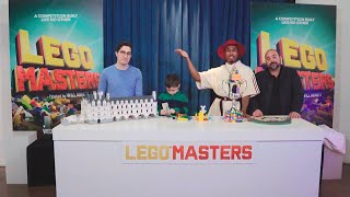 Kid Expert Nate & Producer Matt Face Off in a 'LEGO Masters' Competition