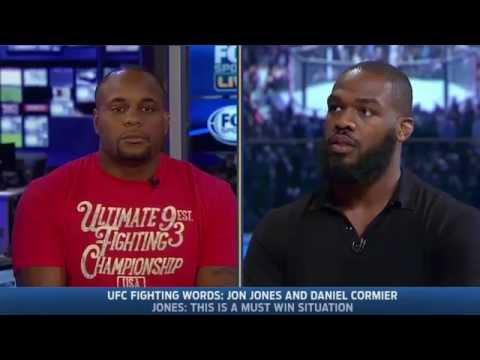 Daniel Cormier vs Jon Jones UFC Interview