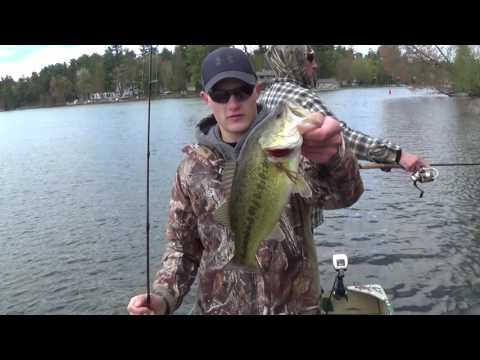 Early Season Bass Fishing/Shawano Wisconsin/Prim Outdoors