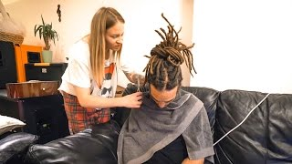 HOW TO MAKE DREADLOCKS SUPER NEAT!