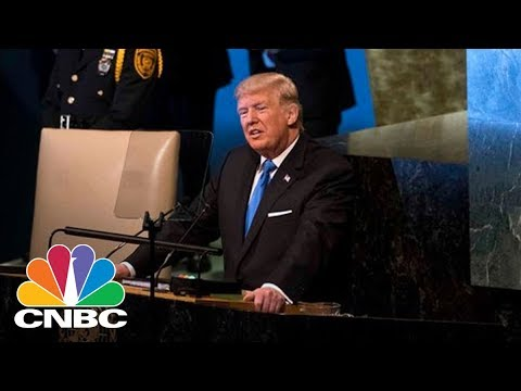 President Donald Trump Talks North Korea, Iran, Syria In UN General Assembly Speech (Full) | CNBC