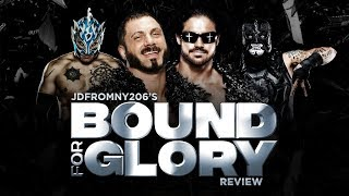 Impact Wrestling Bound For Glory 2018 Full Show Review & Results: AUSTIN ARIES VS JOHNNY IMPACT