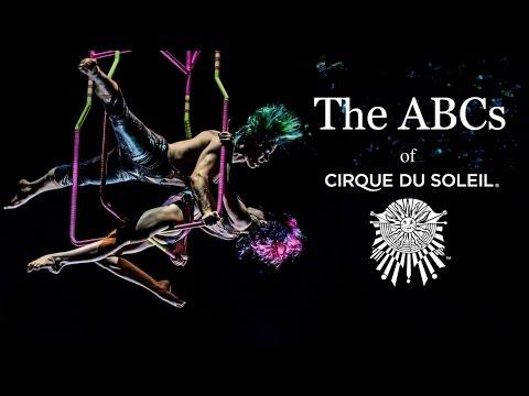 A - Z of Cirque du Soleil