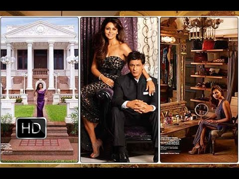 Inside Video Of Shahrukh Khanu0027s House Mannat