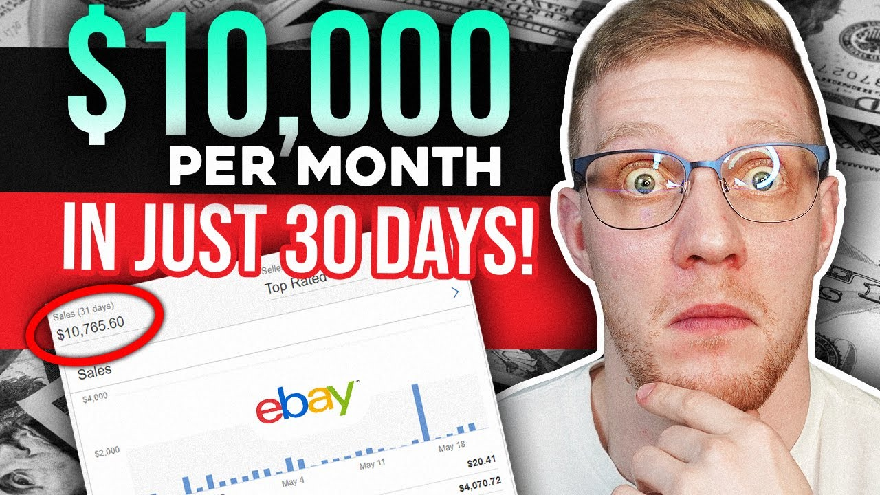 $10,000 In Sales First 30 Days eBay Wholesale Dropshipping in 2020