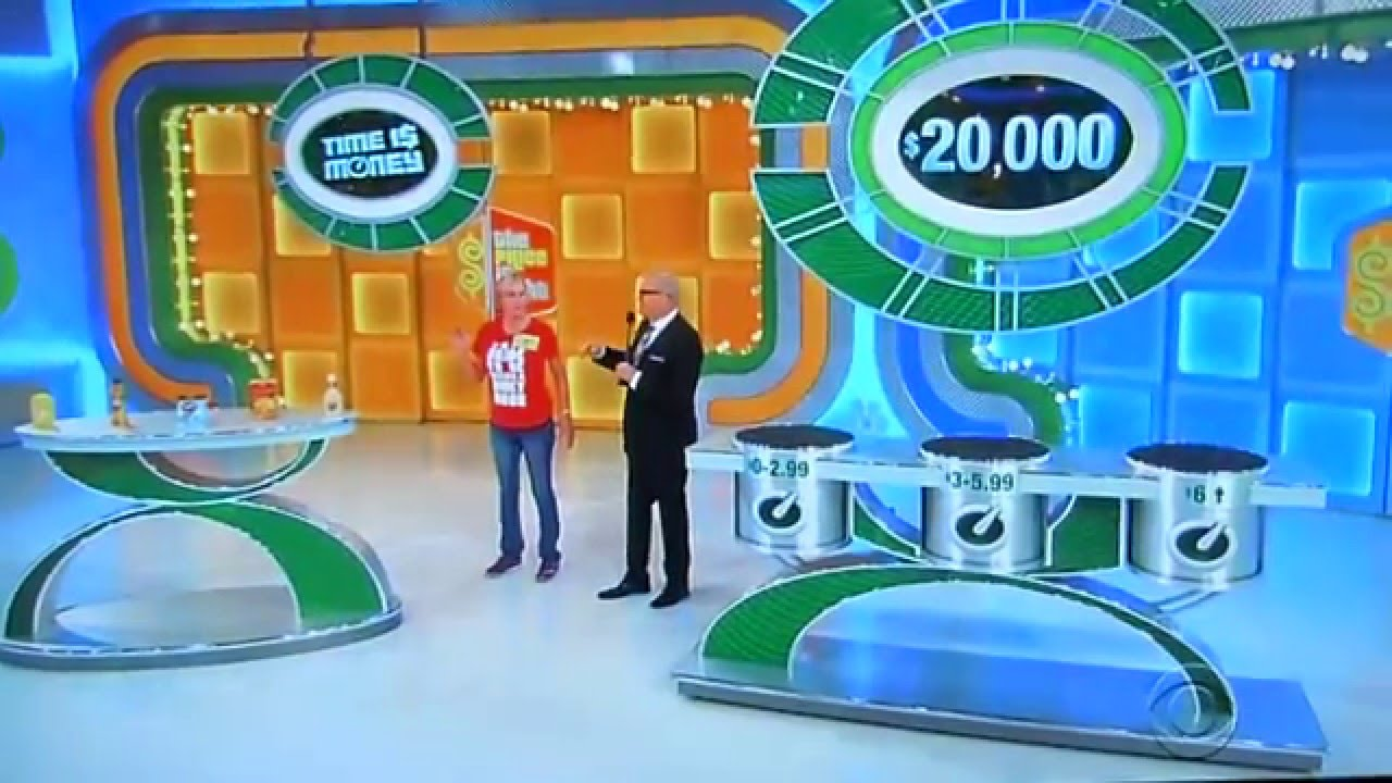 Price Is Right Time Slot