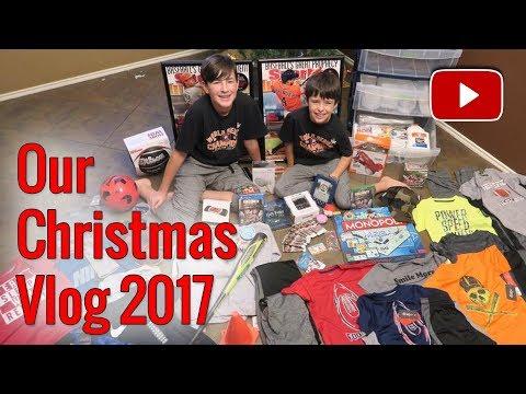 CHRISTMAS VLOG 2017  ERIKTV365