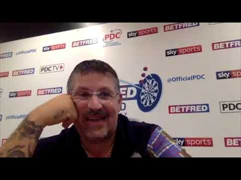 "Gary Anderson: ""It's not Blackpool, it's weird, but it would still be nice to win it"""