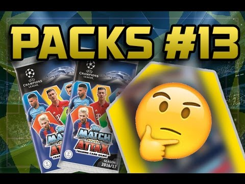 LIMITED EDITION!! | MATCH ATTAX CHAMPIONS LEAGUE 2017 | PACKS #13
