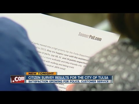 Citizen Survey Results For City Of Tulsa