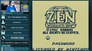 Game Boy Quest 179 Zen Intergalactic Ninja